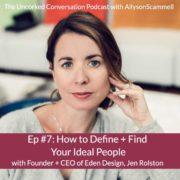 Jen Rolston Allyson Scammell Podcast
